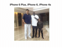 Who did this xD: iPhone 6 Plus, iPhone 6, iPhone 4s Who did this xD