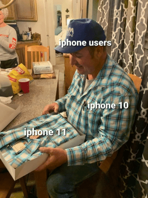 My mom made this: iphone users  BEAST  Lay's  Classic  LY SIZE  iphone 10  iphone 11  BEA My mom made this