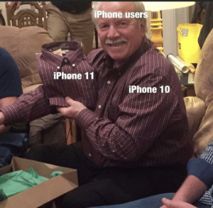 It's not the same: iPhone users  iPhone 11  iPhone 10 It's not the same