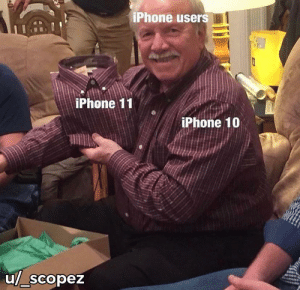 What's the difference?: iPhone users  iPhone 11  iPhone 10  u/_scopez What's the difference?