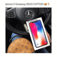 Iphone X Giveaway details! 1.) Follow @malisticaco 🛍 2.) Tag 2 Friends or more ✨ 3.) Comment when done 👀 The winner will be picked on Thanksgiving ( Approximately 2 days ) good luck! P.S : comment as many times as you'd like for a better chance to win 💋: Iphone X Giveaway READ CAPTION  9:41 Iphone X Giveaway details! 1.) Follow @malisticaco 🛍 2.) Tag 2 Friends or more ✨ 3.) Comment when done 👀 The winner will be picked on Thanksgiving ( Approximately 2 days ) good luck! P.S : comment as many times as you'd like for a better chance to win 💋