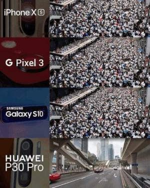 Smartphone camera comparison - pictures of Hong Kong: iPhone XS  G Pixel 3  SAMSUNG  Galaxy S10  HUAWEI  P30 Pro Smartphone camera comparison - pictures of Hong Kong