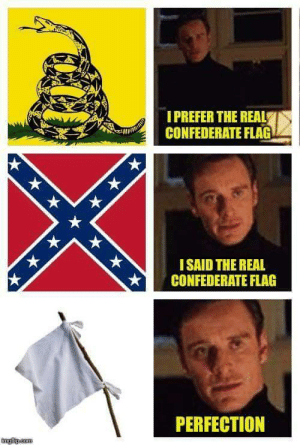 marvellestark: I LAUGHED SO FUCKING HARD: IPREFER THE REAL  CONFEDERATE FLAG  ISAID THE REAL  CONFEDERATE FLAG  PERFECTION marvellestark: I LAUGHED SO FUCKING HARD