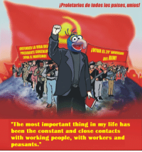 """Life, Work, and Rims: iProletarios de todos los paises, unios!  IDEFENDERLAVIDADEI  PRESIDENTE DE RIM!  """"The most important thing in my life has  been the constant and close contacts  with working people, with workers and  peasants."""" Uphold Marxism-Leninism-Maoism Gonzo Thought!"""