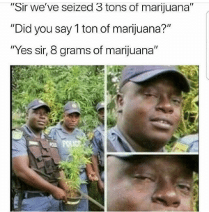 "browsedankmemes:  ""Sorry sir, the 8 grams was just oregano."" via /r/dank_meme http://ift.tt/2lXSzxx: ir we've seized 3 tons of marijuana  ""Did you say 1 ton of marijuana?""  ""Yes sir, 8 grams of marijuana"" browsedankmemes:  ""Sorry sir, the 8 grams was just oregano."" via /r/dank_meme http://ift.tt/2lXSzxx"