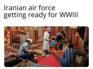 Flying carpets: Iranian air force  getting ready for WWII  XUD  youONGONS Flying carpets