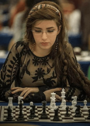 Chess, Iranian, and Her: Iranian chess player Dorsa Derakhshani plays for the US team after being banned from playing without her hijab by her own team.
