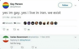 Iranian Government begins crackdown on homosexual practices under Islamic law (Circa 1960 AD): Iranian Government begins crackdown on homosexual practices under Islamic law (Circa 1960 AD)