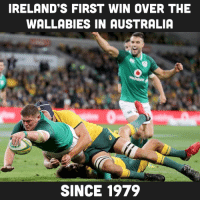 Australia, Ireland, and Rugby: IRELAND'S FIRST WIN OVER THE  WALLABIES IN AUSTRALIA  SINCE 1979 Bring on the decider!!! 🇮🇪🇦🇺🙌🏽 rugby ireland wallabies