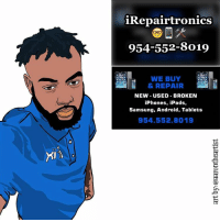 Android, Ipad, and Memes: iRepairtronics  954-552-8019  WE BUY  & REPAIR  NEW USED BROKEN  iPhones, iPads,  Samsung, Android, Tablets  954.552.8019 25 (of 365)- commission art I did for @irepairtronics ... artbyaarontheartist illustration color art dopeart artsy design gfx graphics digital digitalart dope artwork cool drawing draw drawdaily igart graphicdesign creativity inkstagram 365daysofdrawing