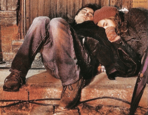 maggiemae87:  nowyouhasflash:   Emma and Daniel sleeping between takes of Deathly Hallows part 1 People who are close to me know, they so know, that there were days when it was decidedly unglamorous. And I was so tired, I would fall asleep anywhere. They'll never be released, but the onset photographer has pictures of me falling asleep everywhere. Like on chairs, on the floor, in the middle of a set, all curled up.  Like a cat…There were times when crew members didn't know where to find me, but they knew I'd be curled up in a ball somewhere. - Emma Watson  this looks like a pretty painting or something  Honestly, this might be one of my favorite candids of them : iring.numbrl maggiemae87:  nowyouhasflash:   Emma and Daniel sleeping between takes of Deathly Hallows part 1 People who are close to me know, they so know, that there were days when it was decidedly unglamorous. And I was so tired, I would fall asleep anywhere. They'll never be released, but the onset photographer has pictures of me falling asleep everywhere. Like on chairs, on the floor, in the middle of a set, all curled up.  Like a cat…There were times when crew members didn't know where to find me, but they knew I'd be curled up in a ball somewhere. - Emma Watson  this looks like a pretty painting or something  Honestly, this might be one of my favorite candids of them