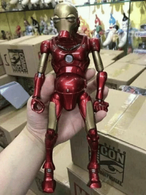 Iron deficiency man: Iron deficiency man