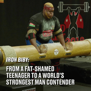 "Bad, Dank, and Best: IRON  TO  RON BIBY  FROM A FAT-SHAMED  TEENAGER TO A WORLD'S  STRONGEST MAN CONTENDER ""I do not care if it's raining, it's snowing, I will still do my workout. No matter how bad I feel, how good I feel. I'll give my best. That's me."" How this guy  went from bullied teenager to one of the strongest men on the planet 💪  Giants Live x IRON Biby"