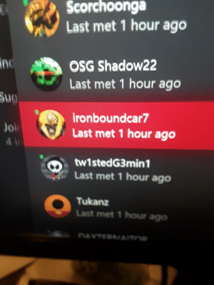 ironboundcar loved screaming the nword and winning about how every character he didnt play was broken. Then threatened to shoot me when I was talking about how fact and opinion were two different things but his opinion was somehow fact for him. Be careful who you group up with, guy was toxic/racist: ironboundcar loved screaming the nword and winning about how every character he didnt play was broken. Then threatened to shoot me when I was talking about how fact and opinion were two different things but his opinion was somehow fact for him. Be careful who you group up with, guy was toxic/racist