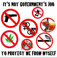 Irs, Memes, and 🤖: Ir'S Nor GoYERNMENT'S JOB  Mi  TO PROTECT ME FROM MYSELF