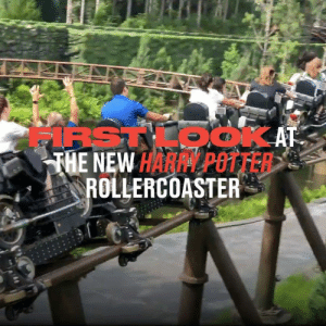 Dank, Harry Potter, and 🤖: IRSTKOOKAT  THE NEW HARPY POTTER  ROLLERCOASTER The ultimate rollercoaster for die-hard Harry Potter fans... 🎢⚡  Theme Park Review