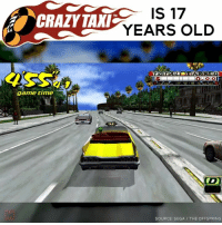 Memes, 🤖, and Sega: IS 17  CRAZY TAMI  YEARS OLD  game time  TAX  SOURCE: SEGA THE OFFSPRING 🚕🔥