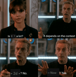Meme, Tumblr, and Blog: Is 7 a lot?  It depends on the context  Now ? Yes.  2d ? No. awesomesthesia:  This is my first meme hope you like it ;)