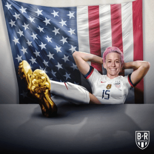 6 goals and 3 assists in 5 games.  Megan Rapinoe wins the 2019 World Cup Golden Boot ⚽️: IS  BR  FOOTBALL 6 goals and 3 assists in 5 games.  Megan Rapinoe wins the 2019 World Cup Golden Boot ⚽️