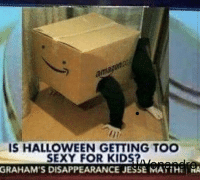 "<p>Nice meme I was given from my friend. Value? via /r/MemeEconomy <a href=""http://ift.tt/2lYQUY7"">http://ift.tt/2lYQUY7</a></p>: IS HALLOWEEN GETTING TOO  SEXY FOR KIDS  GRAHAM'S DISAPPEARANCE JESSE MATTHA <p>Nice meme I was given from my friend. Value? via /r/MemeEconomy <a href=""http://ift.tt/2lYQUY7"">http://ift.tt/2lYQUY7</a></p>"