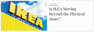 Ikea, Target, and Tumblr: Is IKEA Moving  Beyond the Physical  Store? sapphicxena: am i finally gonna be able to astral project into the ikea in the 5th dimension?