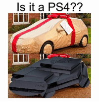 Well I'll be damned. It is a PS4😍 @voltaic.yt: Is it a PS4??  @Voltaic YT Well I'll be damned. It is a PS4😍 @voltaic.yt