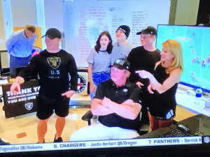 is it just me, or does the camera angle in the #Raiders war room make it look like everyone around Jon Gruden look like a little person? https://t.co/qONfniSeBj: is it just me, or does the camera angle in the #Raiders war room make it look like everyone around Jon Gruden look like a little person? https://t.co/qONfniSeBj