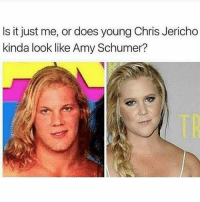They doooo not rate amyschumur not even her genetics respected her galdembanter dt @itsshenell uberCode:SHENG6: Is it just me, or does young Chris Jericho  kinda look like Amy Schumer? They doooo not rate amyschumur not even her genetics respected her galdembanter dt @itsshenell uberCode:SHENG6