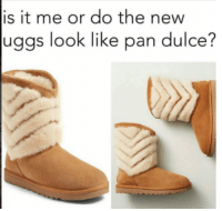 Memes, Ugg, and Uggs: is it me or do the new  uggs look like pan dulce?