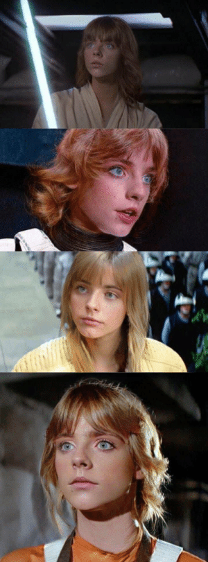 Is it me or does female Mark Hamill have it going on? https://t.co/yfE1E9kCXr: Is it me or does female Mark Hamill have it going on? https://t.co/yfE1E9kCXr