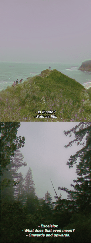 Life, Target, and Tumblr: Is It safe?  Safe as life.   Excelsior.  - What does that even mean?  -Onwards and upwards. cabin15: raven cycle vhs screencaps