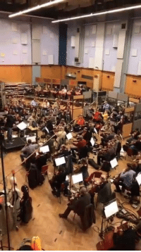 James Gunn has shared a live video from Abbey Road with the GUARDIANS OF THE GALAXY VOL. 2 orchestra playing a score from the film! Must watch!  (Andrew Gifford): is James Gunn has shared a live video from Abbey Road with the GUARDIANS OF THE GALAXY VOL. 2 orchestra playing a score from the film! Must watch!  (Andrew Gifford)