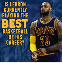 Scary thought: IS LEBRON  CURRENTLY  @CBSS  PLAYING THE  ports  BASKETBALL  OF HIS  CAREER?  NYI  OTT  BIE  SR  RNG  BEN  ElE  THE  KFR  ERI  LRY  SOA  IS CU pla B BA  SUA  AC  ICL Scary thought