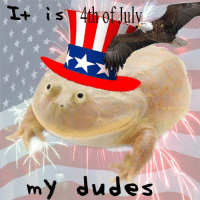 Happy 4th of July my dudes!!  ^BM: is th of July  my dudes Happy 4th of July my dudes!!  ^BM