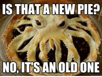 Memes, Thanksgiving, and 🤖: IS THATA NEW PIED  NO, ITS ANOLDONE  quickmeme.com Thanksgiving ideas