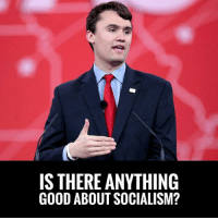 Anaconda, Charlie, and Memes: IS THERE ANYTHING  GOOD ABOUT SOCIALISM? SPOT ON! Charlie Kirk Is Asked If There Is ANYTHING Good About Socialism & His Answer Is Simple: NO!   Socialism Is Responsible For The Death Of Over 100 Million People Last Century #SocialismSucks