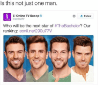 Generic Man 😂😂😂 - - 🚨FOLLOW: @whypree_tho_vip & @whypree_tv ⚠️ for more 🆘🔥‼️: Is this not just one man.  E! Online TV Scoop  Follow  SCOOP GeonlineTV  Who will be the next star of  #TheBachelor? Our  ranking  eonline/29Ou77V Generic Man 😂😂😂 - - 🚨FOLLOW: @whypree_tho_vip & @whypree_tv ⚠️ for more 🆘🔥‼️