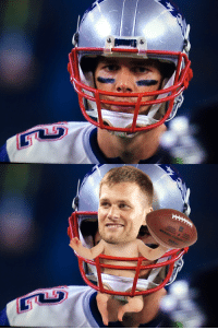 Tom Brady's chin strap looks like a diaper: IS & Tom Brady's chin strap looks like a diaper