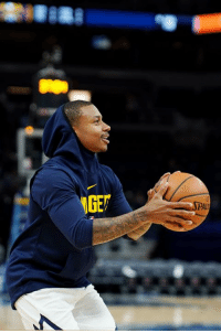 Isaiah Thomas aiming for Feb. 11-13 return for Denver Nuggets debut, per Adrian Wojnarowski: Isaiah Thomas aiming for Feb. 11-13 return for Denver Nuggets debut, per Adrian Wojnarowski