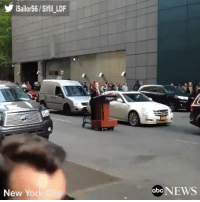 Lit, Memes, and Snl: iSailor56 / Sifill-LDF  New Yor  0bcNEWS SNL is gonna be lit this Saturday.🔥🔥🔥 rp via @abcnews Melissa McCarthy imitating U.S Press Secretary SeanSpicer in the crowded streets of NYC on a Motorized Podium.