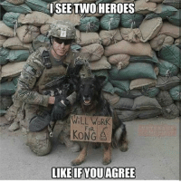 Friends, God, and Memes: ISEETWO HEROES  WiLL WOR  FoR  KONG God bless their souls!! - - ❎ DOUBLE TAP pic 🚹 TAG your friends 🆘 DM your Pics-Vids 📡 Check My IG Stories 💥Check the link in Bio 👉@veterancollection 🔥Follow us @veterancollection - - -Repost @veterans_come_first 🇺🇸🇺🇸🇺🇸🇺🇸🇺🇸🇺🇸🇺🇸🇺🇸 usarmy armylife usnavyseal navylife militarylife militarylove usmilitaryacademy navylife usmilitary usarmyveteran veterans supportthetroops supportourveterans usnavy USMC USCG usmarines armedforces semperfi usairforcepride usairforce hooah Oorah armystrong infantry activeduty supportourtroops usarmedforces