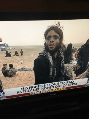 Holy shit, ISIS getting so desperate, they recruiting cavemen: ISIS FIGHTERS ESCAPE TO IRAQ  AS THEY GET PUSHED OUT OF SYRIA  FOX NEWSALERT  NS  FE  UIzIO Holy shit, ISIS getting so desperate, they recruiting cavemen