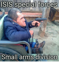ISIS Army lowers recruitment standards: ISIS Special forces  Small arms division ISIS Army lowers recruitment standards