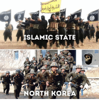 ISIS vs North Korea Who Would Got Yo Money On? COMMENT BELOW 👇 - -: ISLAMIC STATE A  NORTH KOREA ISIS vs North Korea Who Would Got Yo Money On? COMMENT BELOW 👇 - -