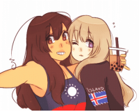 aph-lithuania:  a gift of Gals Being Pals for @emil-s-gay-lsson!!!! for a lovely art trade ~: ISLAND aph-lithuania:  a gift of Gals Being Pals for @emil-s-gay-lsson!!!! for a lovely art trade ~