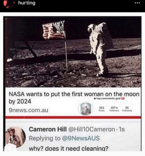 Isn't there already a first women on the moon?: Isn't there already a first women on the moon?