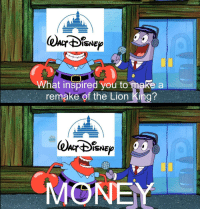 """The Lion King, Lion, and Lion King: ISNE  0  What inspired you to make a  remake of the Lion King?  ISNE Can't wait for """"Aladdin"""""""