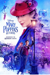 Oh hi here's the exclusive @dolbycinema poster for #MaryPoppinsReturns.  You can find a Dolby Cinema and get your tickets now: https://t.co/kIiNImIGpd https://t.co/QPi4oDlZfc: ISNE  MARY  POPPINS  RETURNS  DISCOVER IT IN  DODOLBY CINEMA Oh hi here's the exclusive @dolbycinema poster for #MaryPoppinsReturns.  You can find a Dolby Cinema and get your tickets now: https://t.co/kIiNImIGpd https://t.co/QPi4oDlZfc