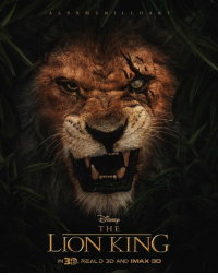 Disney, Imax, and Memes: ISNE  THE  LION KING  IN RTS, REAL D 3D AND IMAX 3D The Lion King Poster - Be Prepared 🦁 - Alternative Disney [🎨credit: Alexmurilloart]