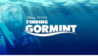 Memes, Pixar, and Finding Dory: ISNEp  PIXAR  FINDING  GORMINT Sequel to FINDING DORY announced by Pixar 😂  Credit: Minimal Bollywood Posters